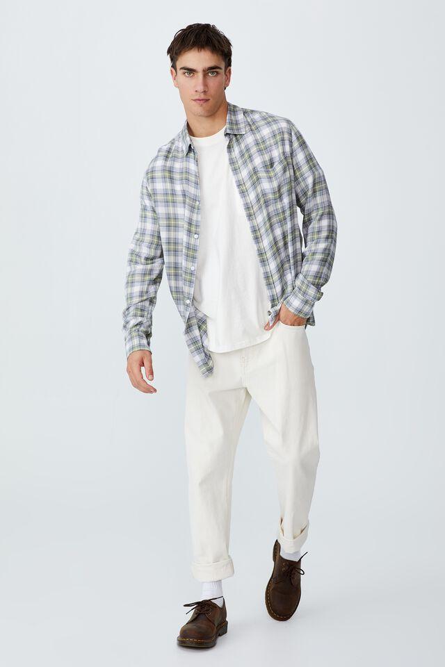 Cayman Long Sleeve Shirt, DUSTY RADIANT CHECK