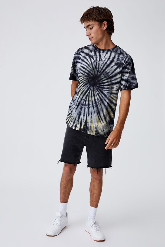 Festival T-Shirt, NIGHT SWIRL TIE DYE