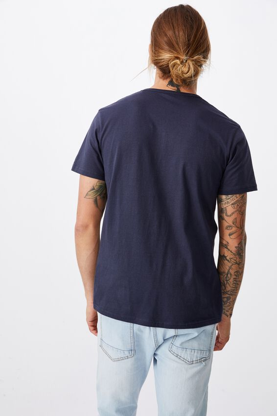 Essential Henley T-Shirt, TRUE NAVY