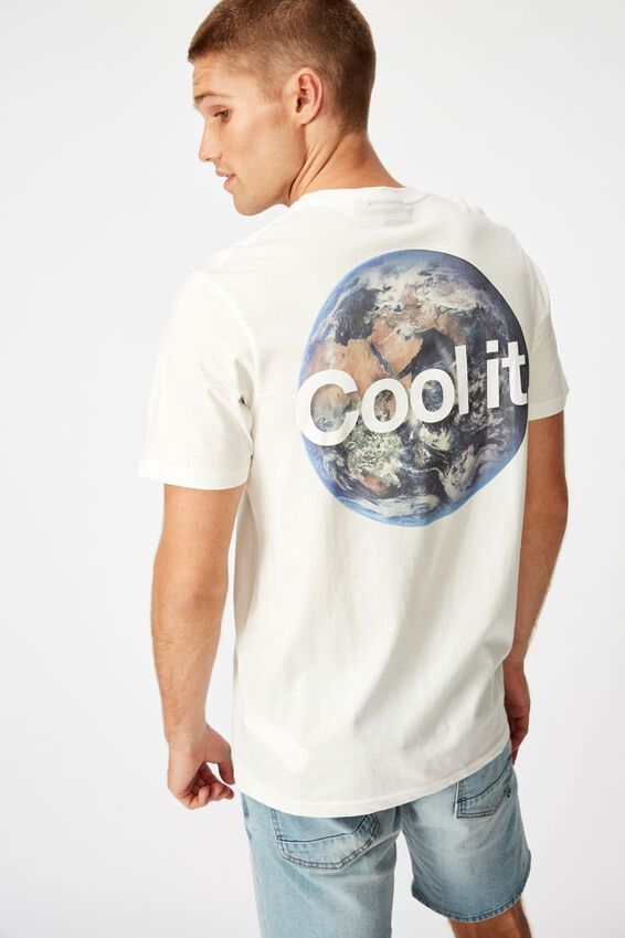 Tbar Collab Pop Culture T-Shirt, LCN NG VINTAGE WHITE/NATIONAL GEOGRAPHIC - COO