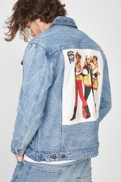 Rodeo Collaboration Jacket, SALT N PEPA/BLUE