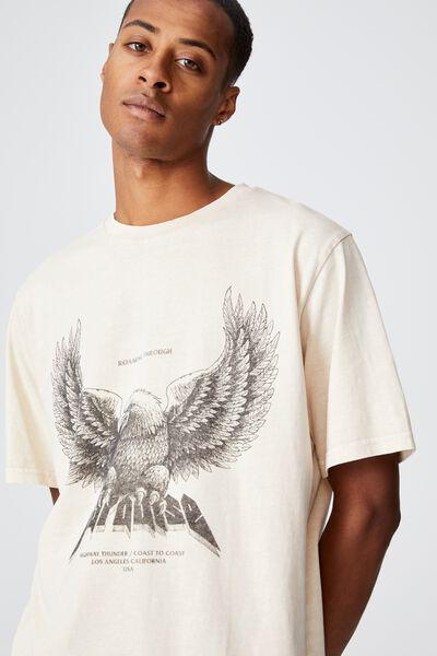 Bondi T-Shirt, BONE/ROAMING THROUGH PARADISE