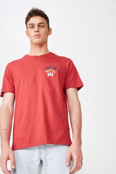Moto T-Shirt, RACE RED/EASY AS MFG