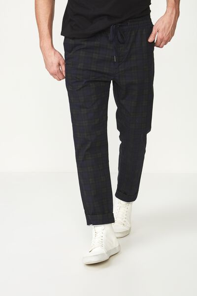 Drake Roller Pant, HIGHLANDS BLUE CHECK