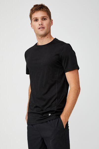 Active Tech T-Shirt, BLACK MESH