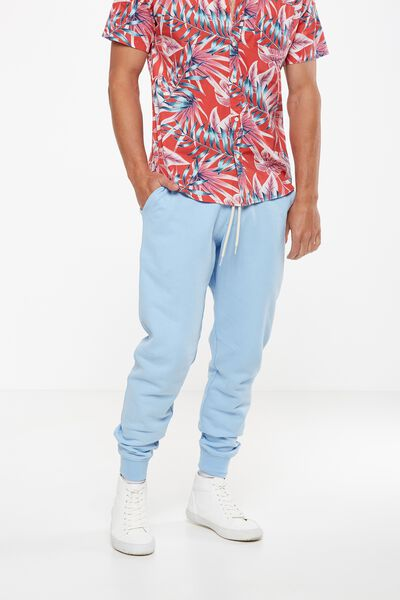 Trippy Slim Trackie, LIGHT BLUE WASHED