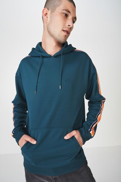 Tricot Pullover, DARK TEAL/NYC