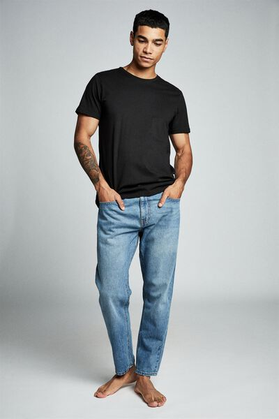 Rigid Relaxed Jean, CHEVY BLUE