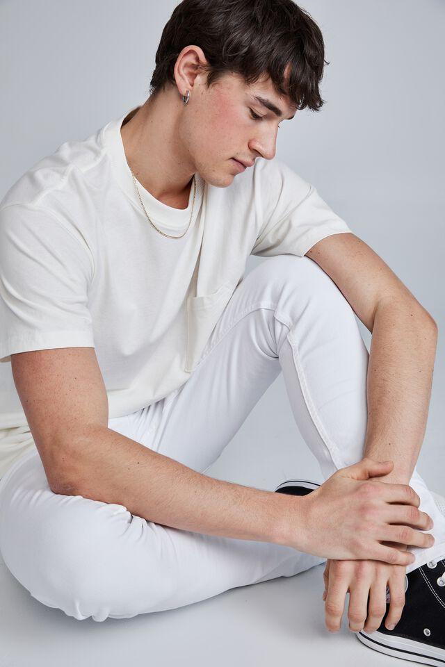 Super Skinny Jean, WHITE