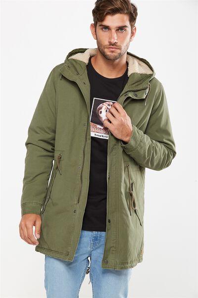 Military Jacket, KHAKI