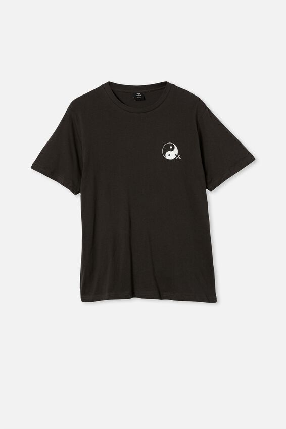 Tbar Art T-Shirt, WASHED BLACK/ADVANCEMENTS
