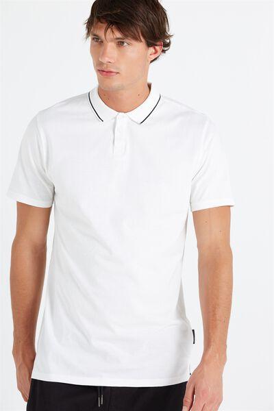 Ae Street Polo, WHITE PRINT