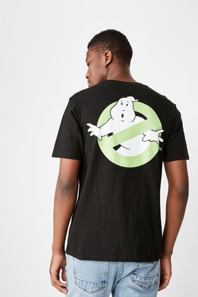 Movie And Tv T-Shirt, LC SK8 BLACK/GHOSTBUSTERS - JAPAN LOGO