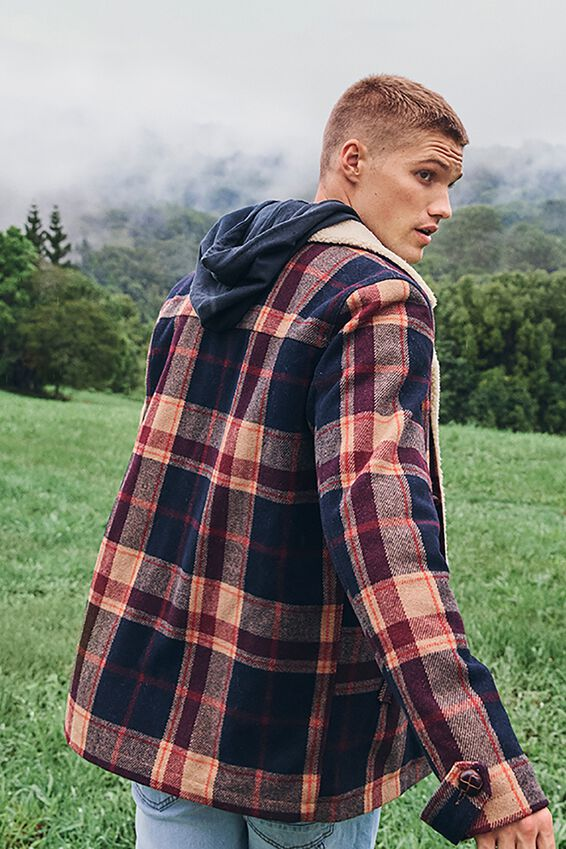 Ranch Jacket, MOUNTAIN CHECK