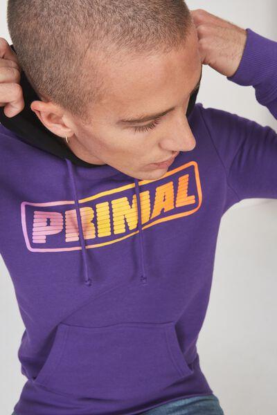 Fleece Pullover 2, PRISM VIOLET/BLACK/PRIMAL FADE