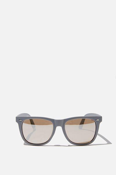 Beckley Sunglasses, MATTE GREY/BROWN