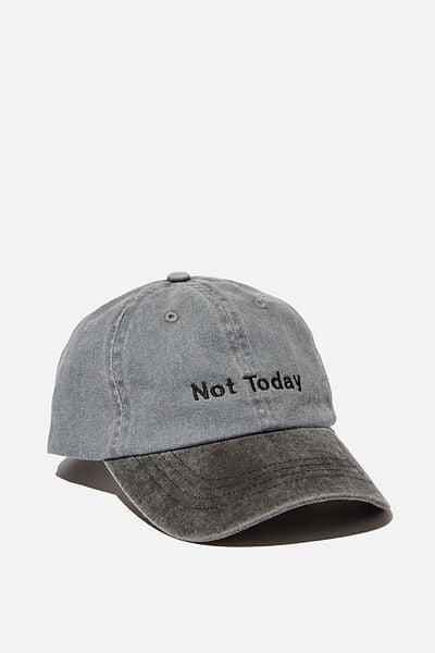 Word Dad Hat Personalised, TT WASHED BLACK