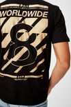 Tbar Cny T-Shirt, BLACK/LUCKY 8 WORLDWIDE