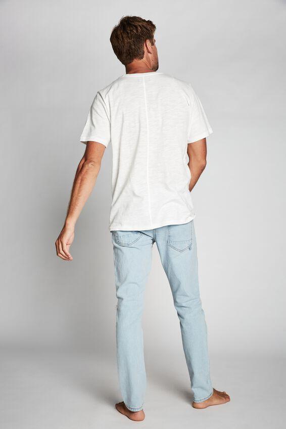 Slim Fit Jean, BLEACHER BLUE RIPS