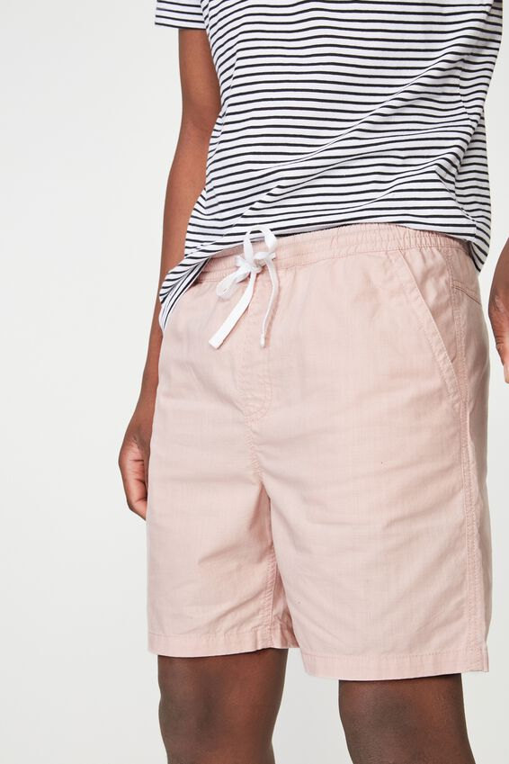 Easy Short, PINK/TEXTURE