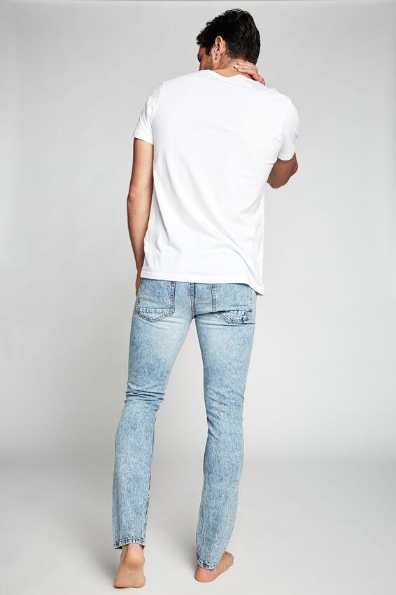 Slim Fit Jean, CALI BLUE
