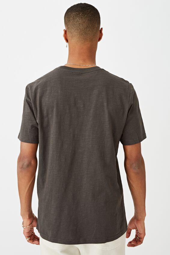 Tbar Text T-Shirt, FADED SLATE SLUB/EAST SIDE DISTRICT CHEST