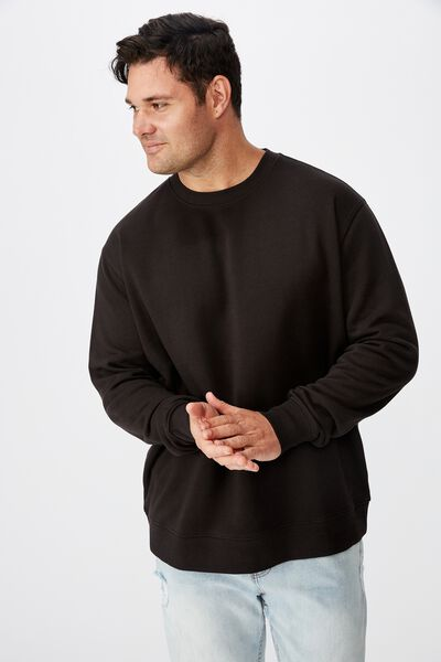 Bg Crew Fleece 2, BLACK