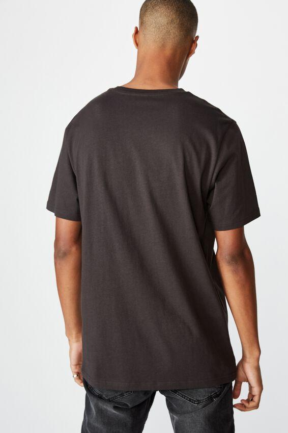 Tbar Collab Pop Culture T-Shirt, LCN WB WASHED BLACK/MORTAL KOMBAT-FINISH HIM