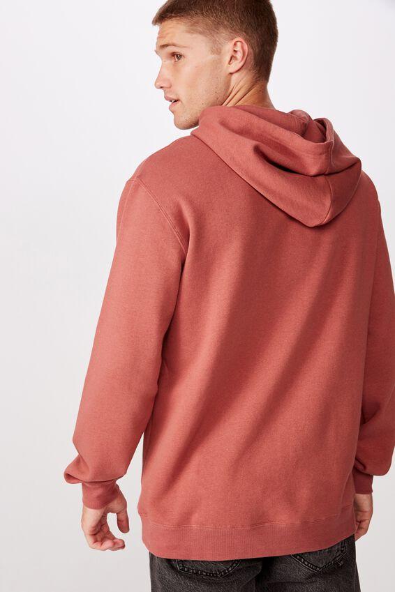 Fleece Pullover 2, OXBLOOD/ORIGINAL STUDIOS