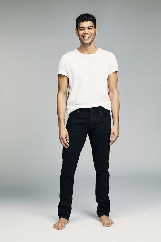 Slim Fit Jean, NEW BLACK