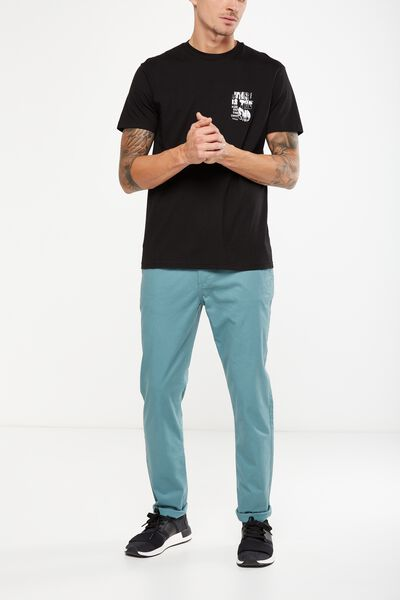 Knox Chino Pant, ATLANTIC BLUE