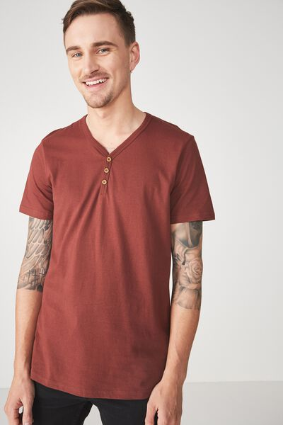 Essential Henley, BARN RED