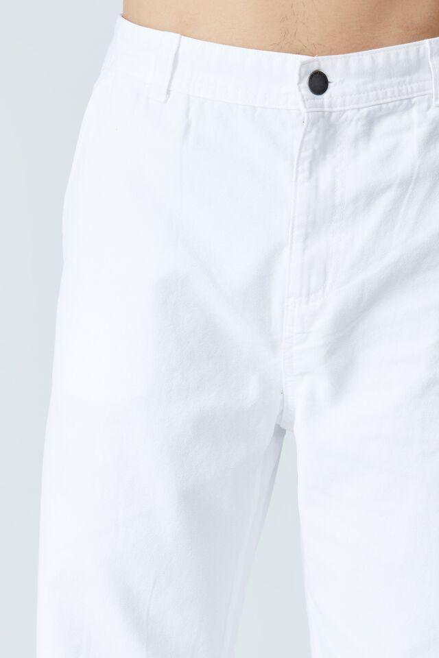 Loose Fit Pant - Canvas, WHITE CANVAS