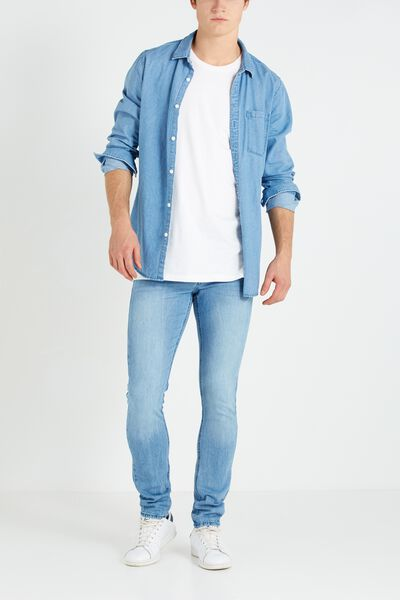 Slim Fit Jean, SALT BLUE