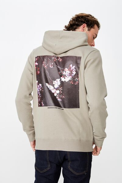 Fleece Pullover 2, MOSS STONE/UNDERGROUND FLORAL