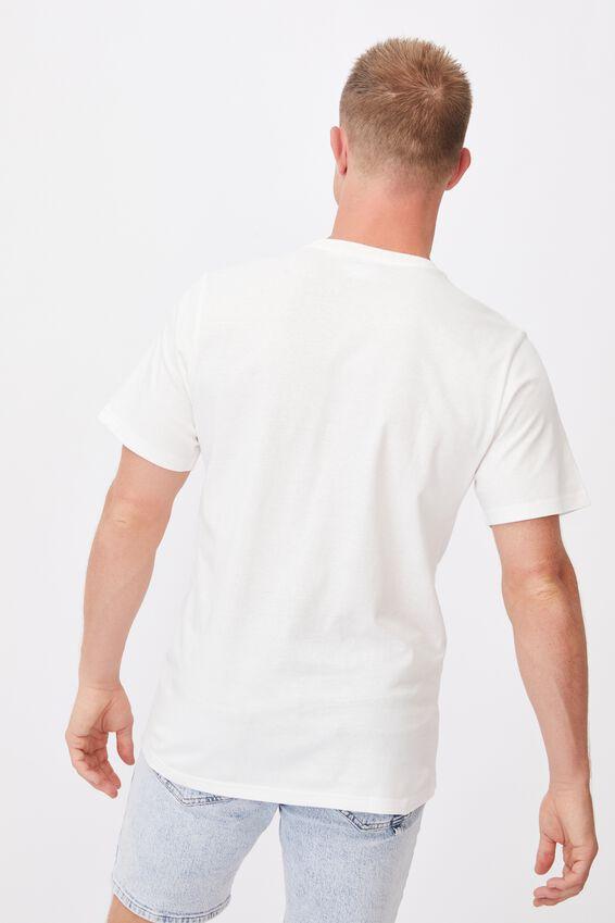 Tbar Collab Pop Culture T-Shirt, LCN STR VINTAGE WHITE/STREETS-SPLICE