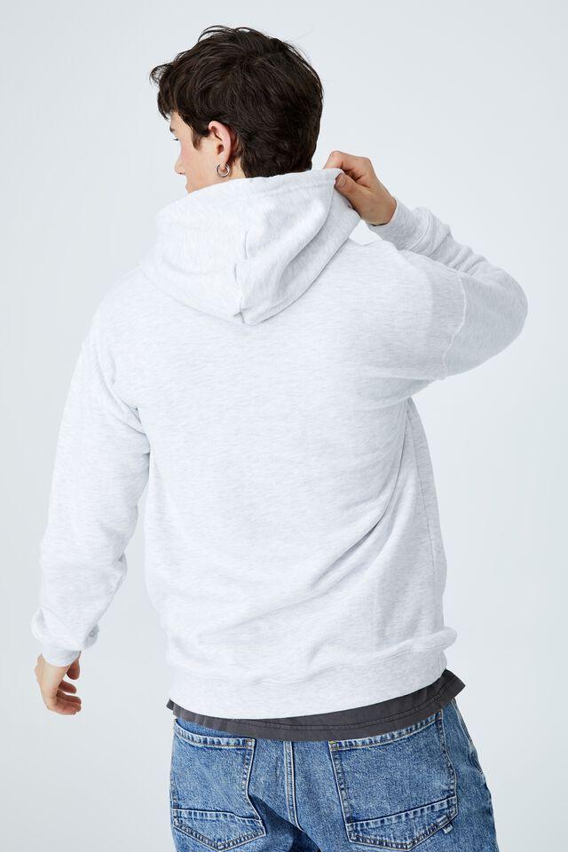 Premium Collab Fleece Pullover, LCN ATH MARLE/HARVARD