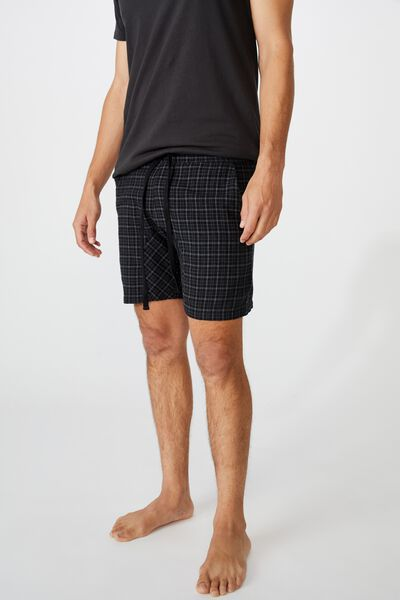 Lounge Short, BLACK CHECK