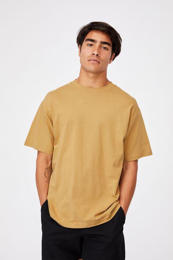 Essential Skate T-Shirt, CAMEL