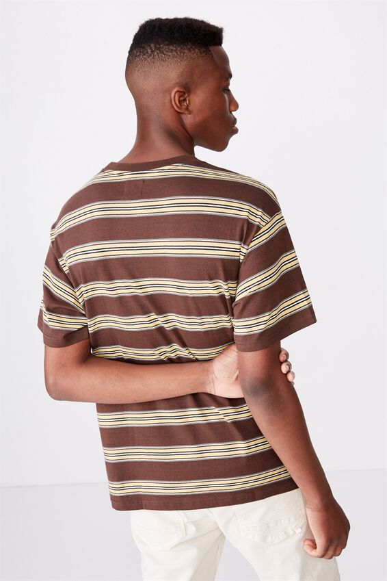 Dylan Tee, CHOCOLATE BROWN/FROSTED HONEY/VINTAGE WHITE/WASHED