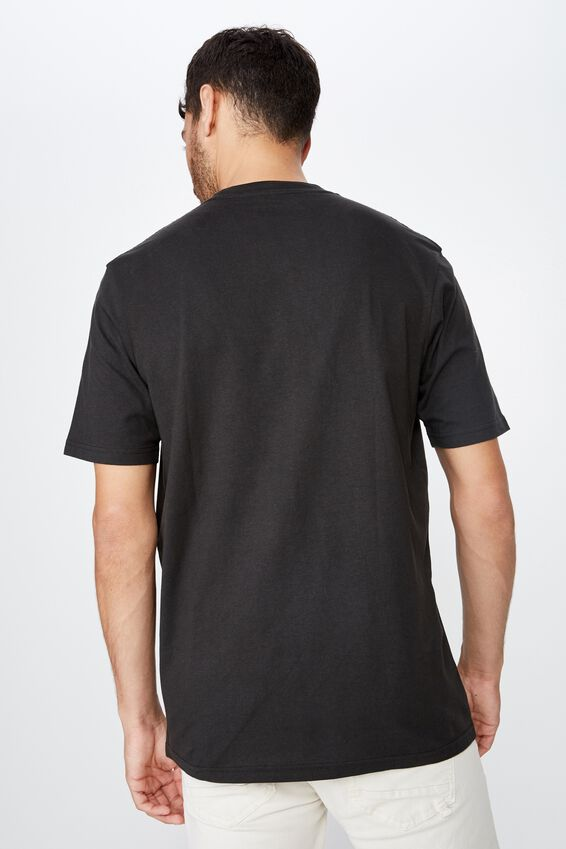 Tbar Collab Elton John T-Shirt, LCN BR WASHED BLACK/ELTON JOHN - FLYING