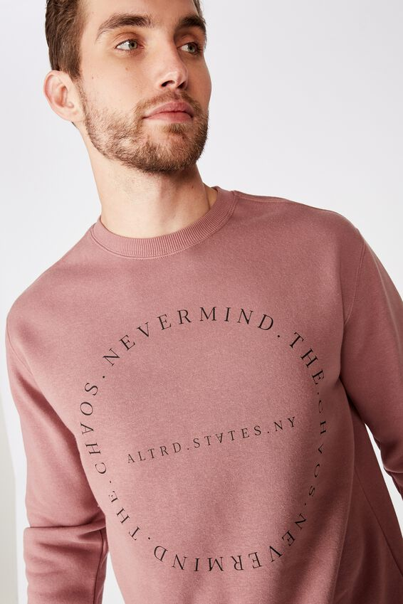 Crew Fleece 2, DIRTY BURG/NEVERMIND THE CHAOS