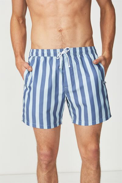 Swim Short, BLUE/NAVY YACHT STRIPE