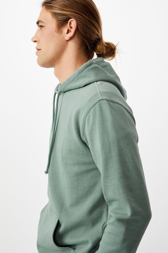 Essential Fleece Pullover, MINERAL BLUE
