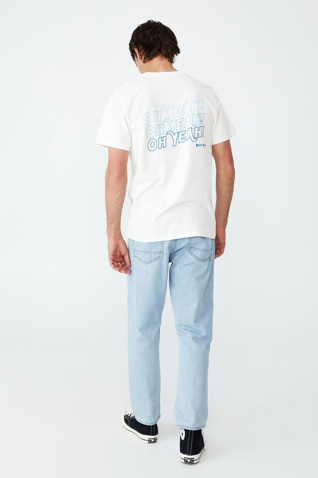 Tbar Collab Pop Culture T-Shirt, LCN KOO VINTAGE WHITE/KOOL AID - YEAH