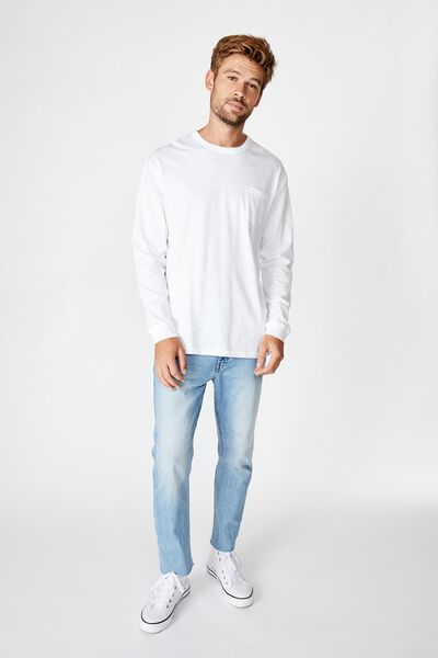 Otis Long Sleeve, WHITE
