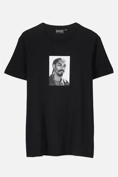 Tbar Collaboration Tee, LC BLACK/SNOOP