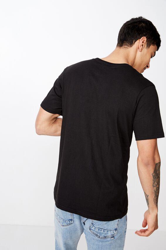 Tbar Text T-Shirt, BLACK/BRKLYN COLOURS