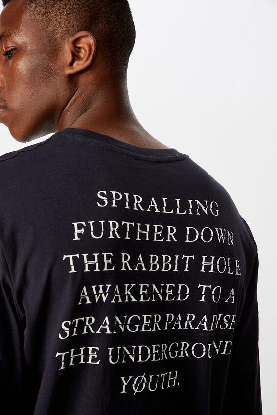 Tbar Long Sleeve, TRUE NAVY/THE UNDERGROUND YOUTH