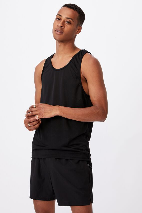 Active Tech Tank, BLACK
